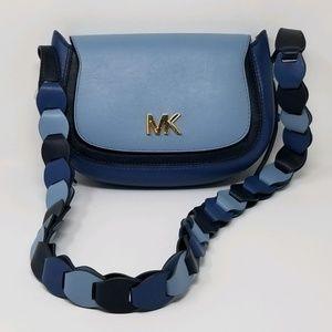 Michael Kors Jolene Small Leather Saddle Bag